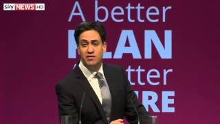 Ed Miliband Unveils Labour Party Manifesto For General Election 2015