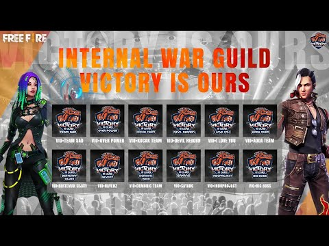 INTERNAL WAR GUILD VICTORY IS OURS