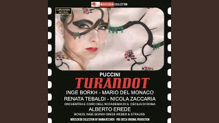 Turandot: Act III Scene 1: Principessa di morte! (Calaf)