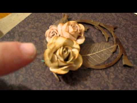 I made these Mulberry Roses!