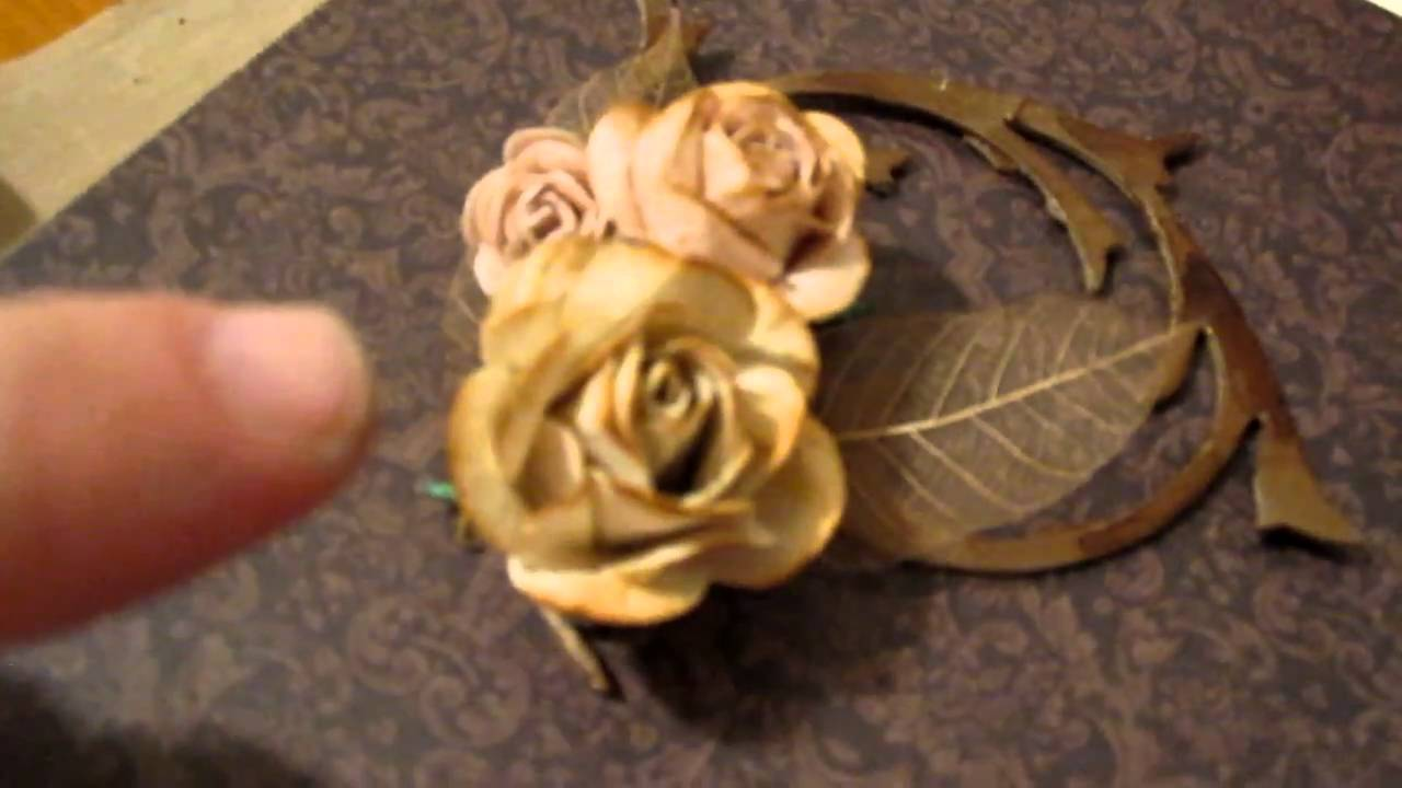 I Made These Mulberry Roses Youtube
