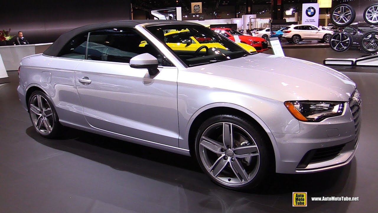 2016 Audi A3 Cabriolet Exterior And Interior Walkaround Chicago Auto Show