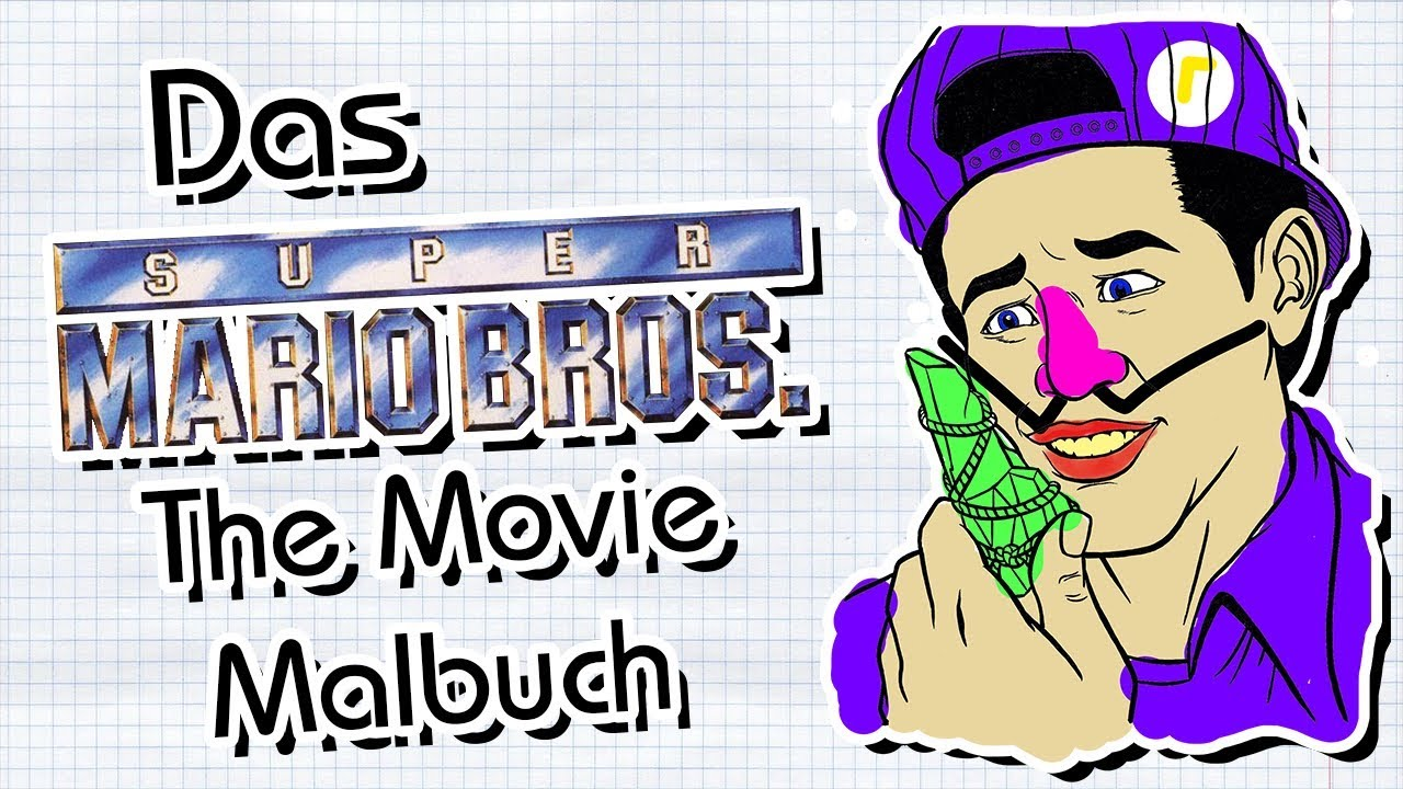 Das Super Mario Bros. The Movie Malbuch | Domi die Domina - YouTube