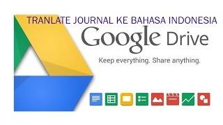 Download Video Cara Mudah Dan Cepat Translate Jurnal Bahasa Inggris Ke Bahasa Indonesia MP3 3GP MP4