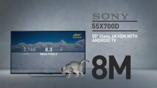 SONY 55X700D X700D Series 4K HDR // Full Spec Review  #SonyTV