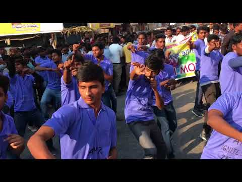 A.M.reddy college 2k17 flashmob