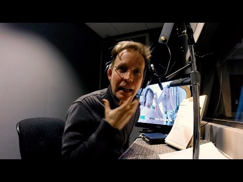 Day in the Life of a VoiceActor: Fox Session at Fox James Arnold Taylor