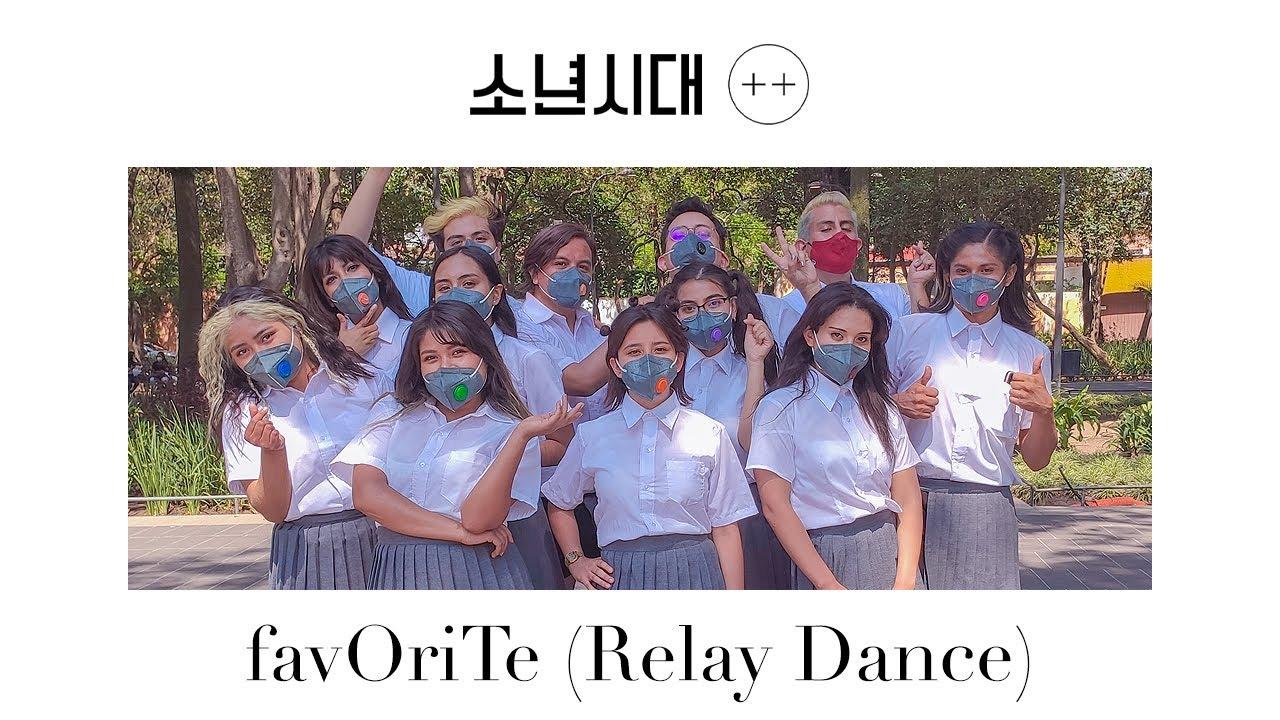 LOOΠΔ - favOriTe   Relay Dance by LVNA