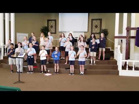 O magnum mysterium by Evan Ramos Citrus Park Christian School Middle school chorus