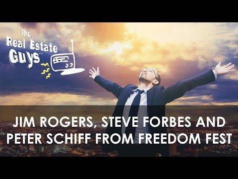 Jim Rogers, Steve Forbes and Peter Schiff from Freedom Fest