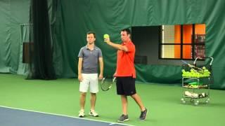 tennis serve lesson the serve s nuclear power source