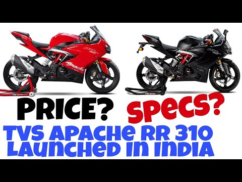 TVS Apache RR 310 Price, Specification, Launch Date 2017, Images | TVS RR  310 Launched In India