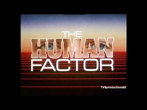 The Human Factor TVS Production 2nd November 1986