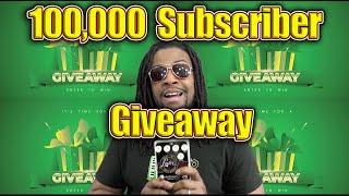 100k Subscriber Giveaway 🔥🔥🔥🔥😎