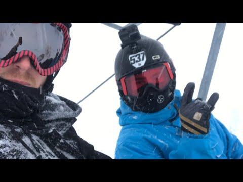 POWDER Day - Snowboarding Bogus Basin In Boise Idaho - Backcountry