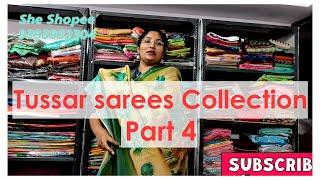 tussar silk sarees #49
