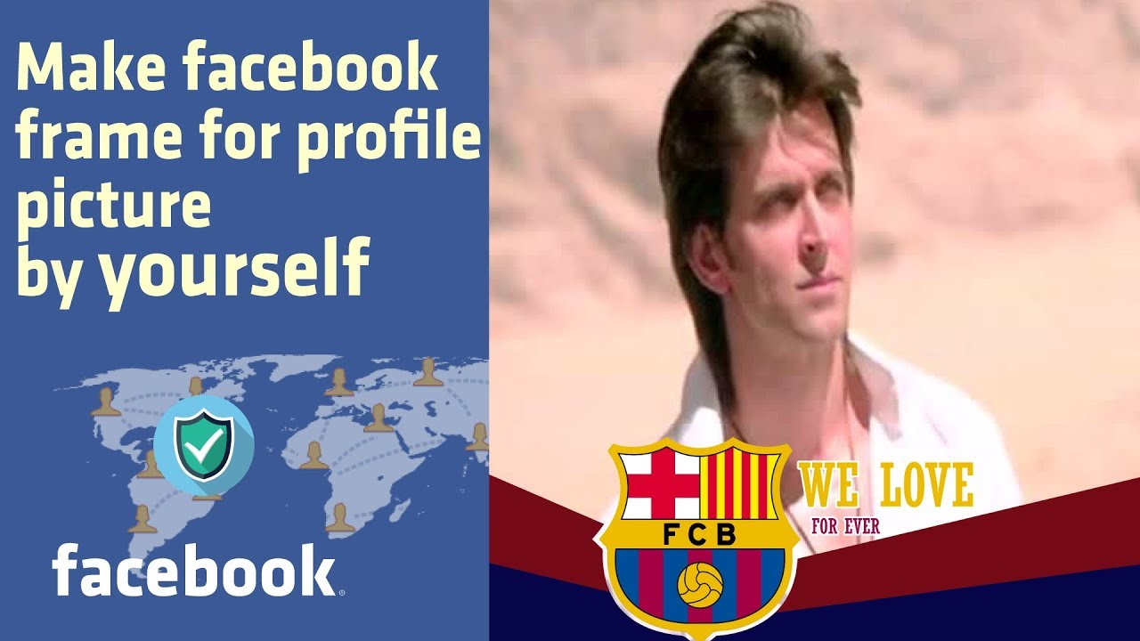 How To Create a Facebook Frame For Profile Picture - 2018 ...