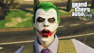 How to Create the Joker Outfit - GTA 5 Online Halloween DLC