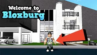2 MANSIONS IN 1 VIDEO! BLOXBURG HAUS TOUR | ROBLOX | FAMBAM GAMING