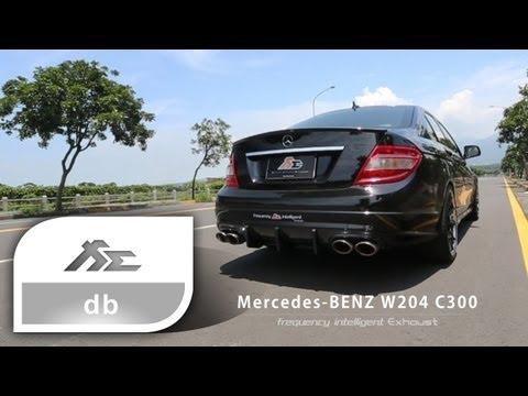 Mercedes Benz W204 C300 Valve Exhaust Sound Acceleration
