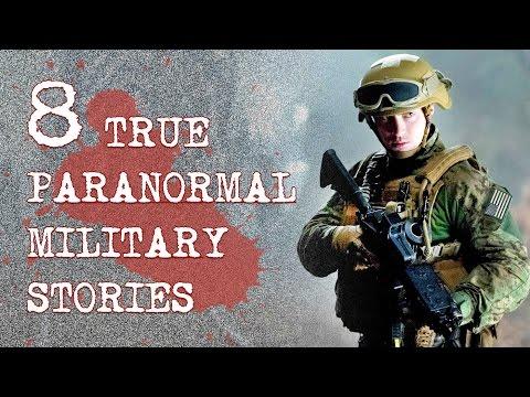 8 True Paranormal Military Stories | True Terror Vol. 5