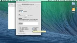 Setting up TextEdit on a Mac for Web Development
