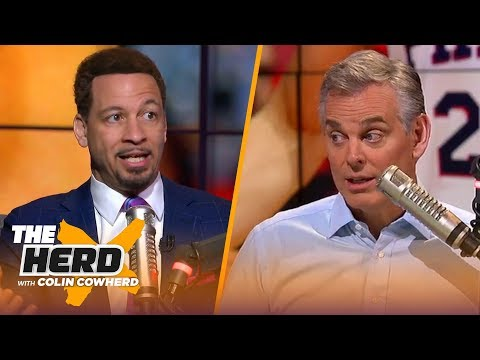 Chris Broussard talks NBA trade deadline, 76ers struggles, Iggy, Kuzma, and more | NBA |THE HERD