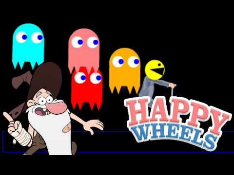 Grandpappy Wheels & Pac-Man Thrills! | Happy Wheel #2