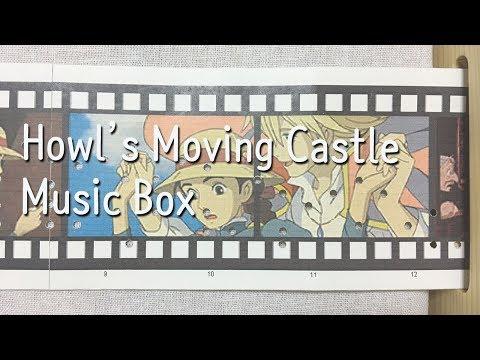 [DIY Music Box] 인생의 회전목마(人生のメリ - ゴ-ランド) - 하울의 움직이는 성(ハウルの動く城) OST