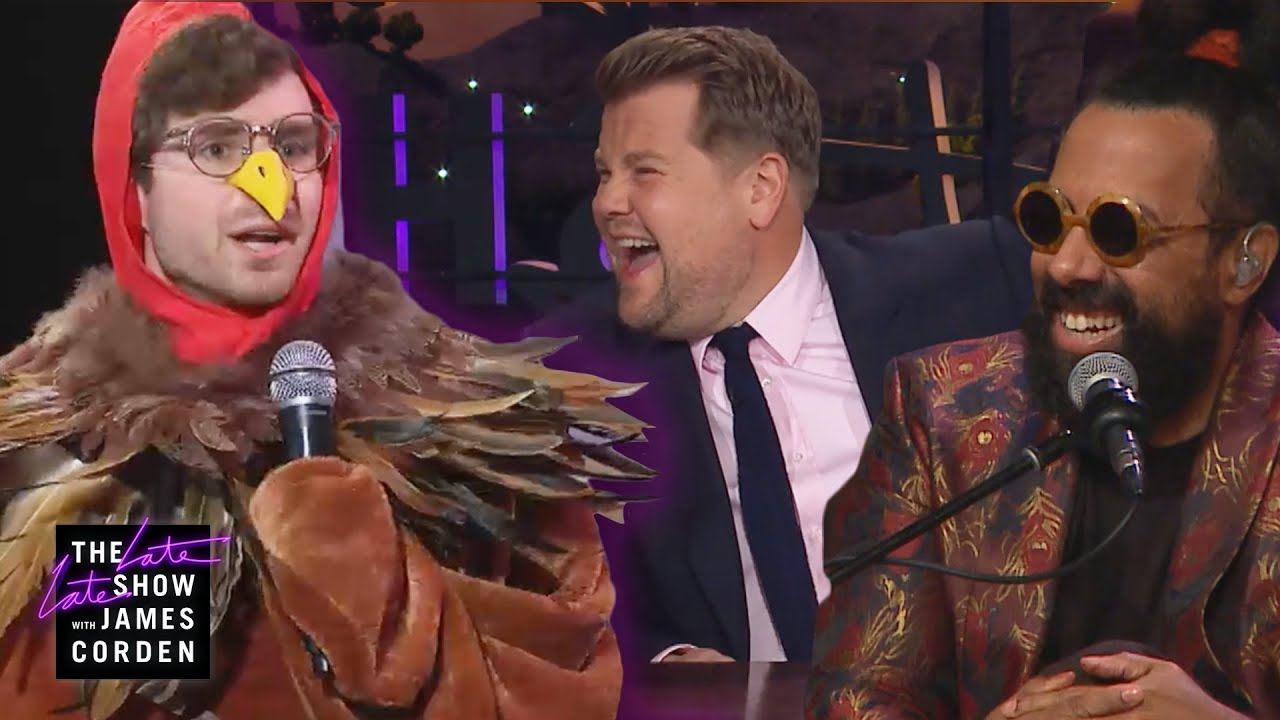 Thanksgiving Turkey ROASTS James Corden & Reggie Watts