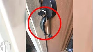 If You See A Rubber Band On Your Door, Call The Police!