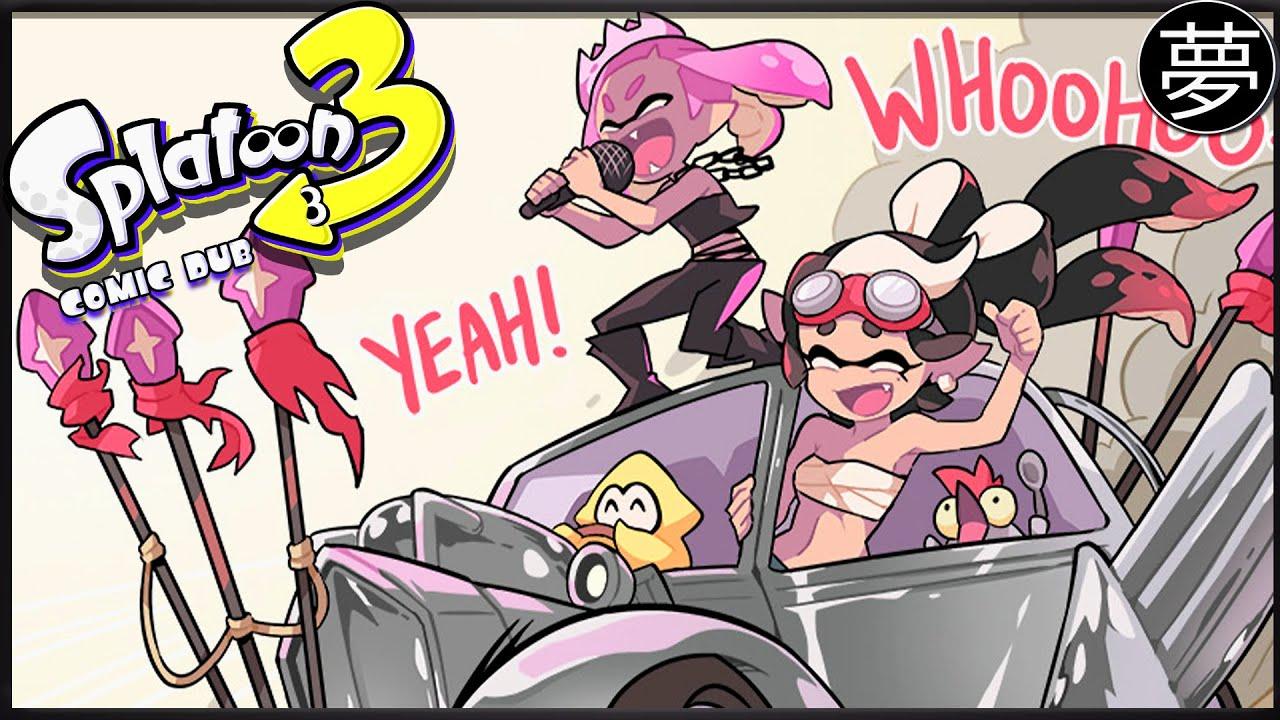 When Team Chaos Arrives in Splatsville 🎤「Splatoon 3 Comic Dub」   By GomiPomi