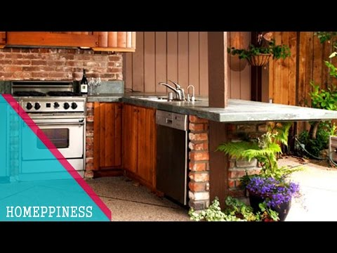 (NEW DESIGN 2017) 50+ Best Outdoor Kitchen Ideas For Small Spaces
