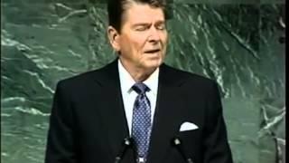 President Reagan | Three Famous Alien Threat Speeches
