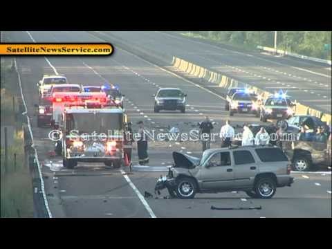 Two Dead in Possible Wrong Way Driver Accident- West Bridgewater, MA  (07-15-12)