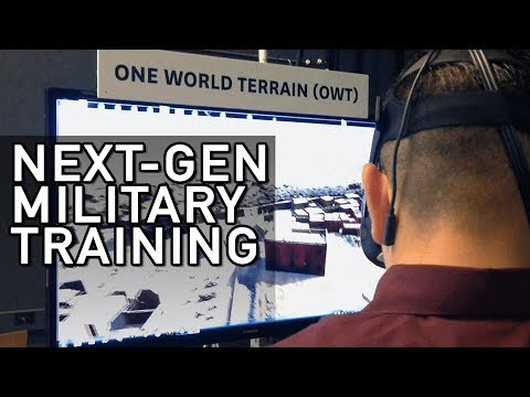 One World Terrain: Supporting Next-Gen Army Training