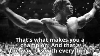 ► The 6 RuĮes To Success by Arnold Schwarzenegger! *Must Watch* No Pain No Gain