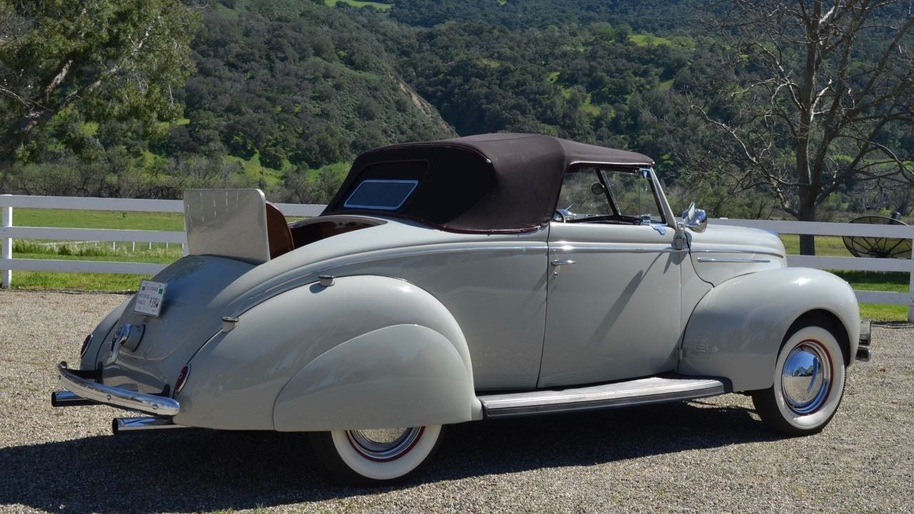 SOLD 1939 Ford 91A Convertible W Rumble Seat CA