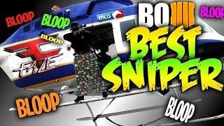 Insane Snipers Nest Scorestreak Gameplay! (COD BO4)