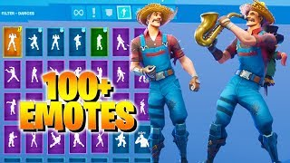 Fortnite HAYSEED Skin Dance with 100+ Emotes (including Hoop Master, Scenario, Breezy, Conga)