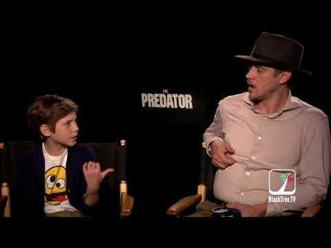 Boyd Holbrook and Jacob Tremblay THE PREDATOR  for TIFF 2018