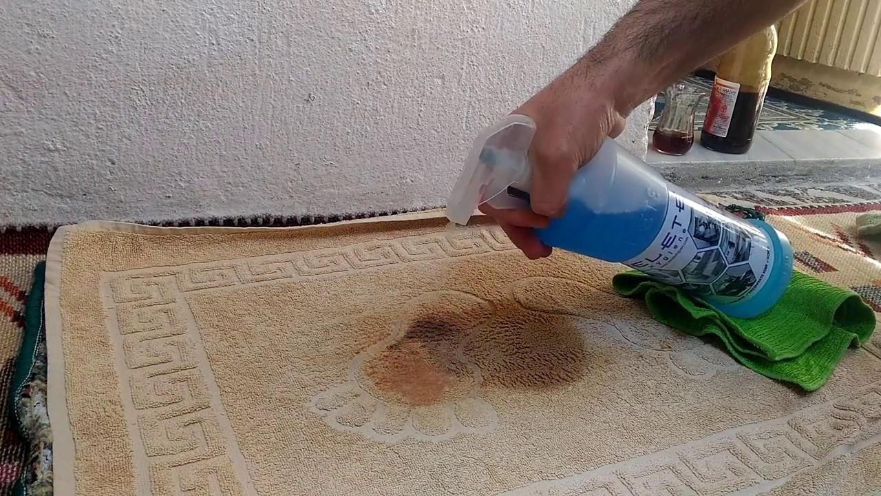 Evde halı yıkama spreyi nasıl yapılır