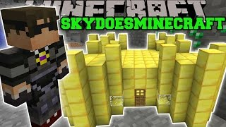 Minecraft: SKYDOESMINECRAFT MOD (BUTTER CASTLE, BUTTER SWORD, & MORE!) Mod Showcase