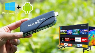MagicStick Smallest PC   Plug Any Tv to Make Computer 🔥