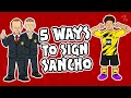 5 ways Man United could SIGN Jadon Sancho! ► OneFootball x 442oons