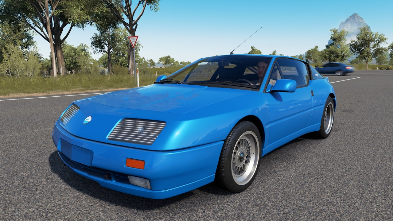 forza horizon 3 renault alpine gta le mans 1990 test drive playseat car pack youtube. Black Bedroom Furniture Sets. Home Design Ideas