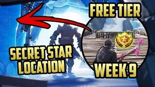 Season 7, Week 9 | *SECRET* Battle Star Location! (Free Tier) - Fortnite