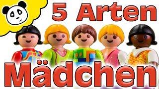 Playmobil Schule - 5 Arten von Mädchen - Playmobil Film