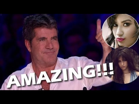Simon Cowell REACTING to Various Famous Singers!!