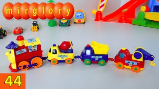 Паровозик и машинки - мультфильм про машинки - Город машинок 44 серия. Развивающие мультики mirglory